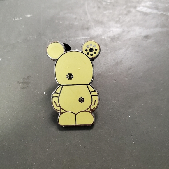 Mickey No Face Pin